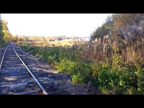 Railriding in Rhode Island.