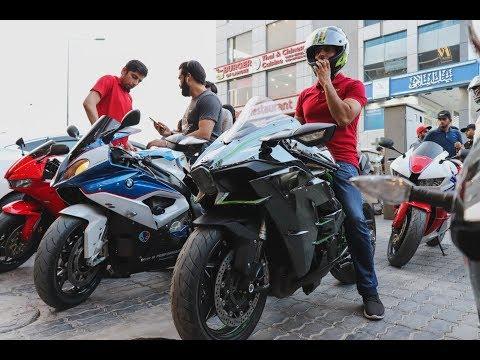 Pakistans Fastest bike ninja H2 in Lahore