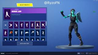SELLING FORTNITE ACCOUNT | GHOUL TROOPER RARE EMOTES , 30+ SKINS (NOT SOLD)