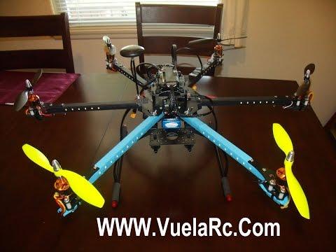 Aprende armar un hexacoptero con APM 2.8 Parte 6