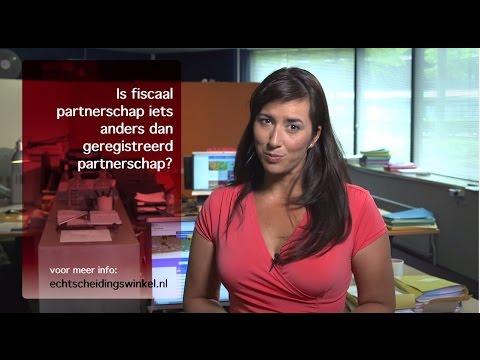 Is fiscaal partnerschap iets anders dan geregistreerd partnerschap?