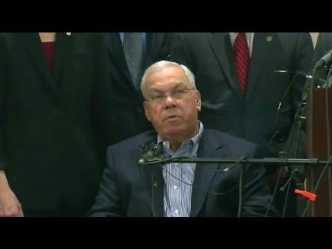 Mayor Tom Menino at FBI Press Conference: