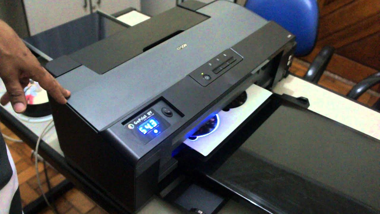 GO PRINT UV cd printer - Epson L1300 UV led
