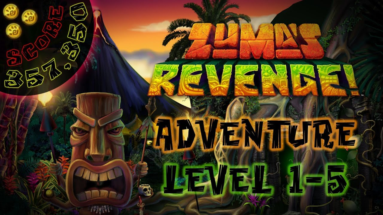 Zumas Revenge Adventure Level 1 5 Switchback Slider Score