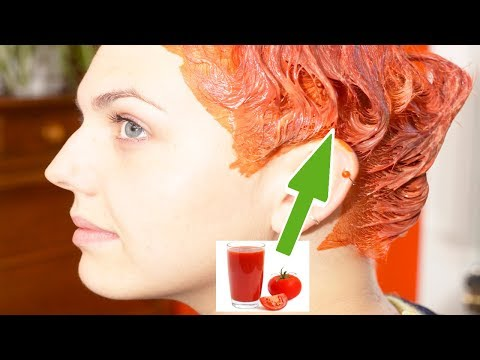DIY Secret To Grow Extra Long Hair with Tomato Juice