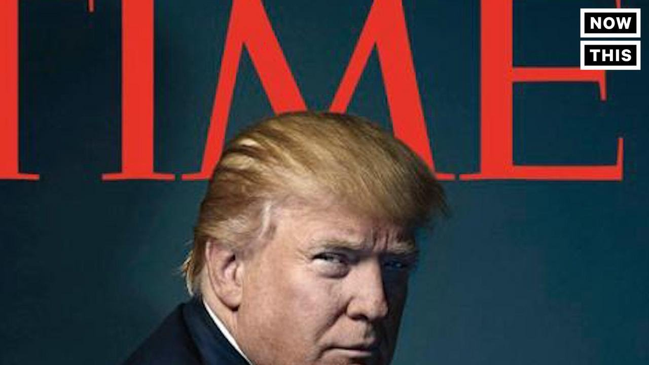 Trump Is TIME's Person of the Year