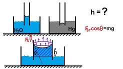 Physics - Mechanics: Fluid Statics (5 of 12): Surface Tension: What Causes Capillary Action?
