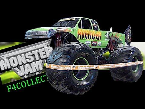 Monster Jam - Jim Koehler - Avenger Truck - 2017 Pit Party - Indianapolis