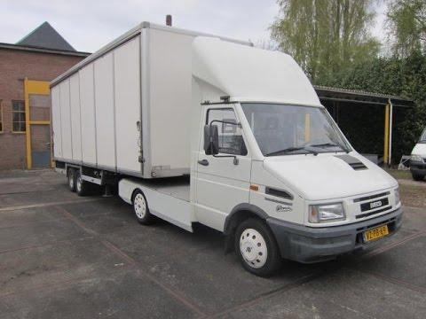 Super BE Trekker oplegger te koop bij van Burik bedrijfswagens - YouTube GQ-82