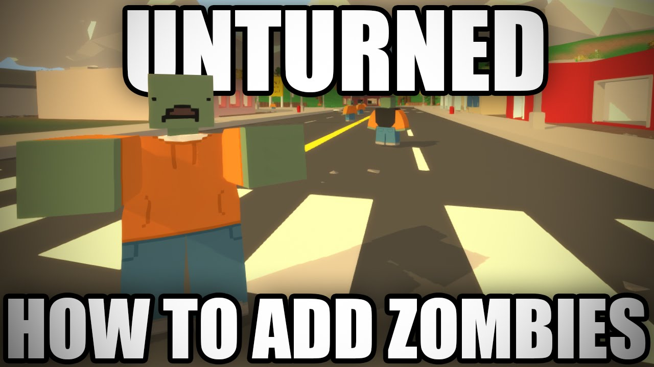 Unturned how to add zombies in the 30 level editor youtube gumiabroncs Image collections