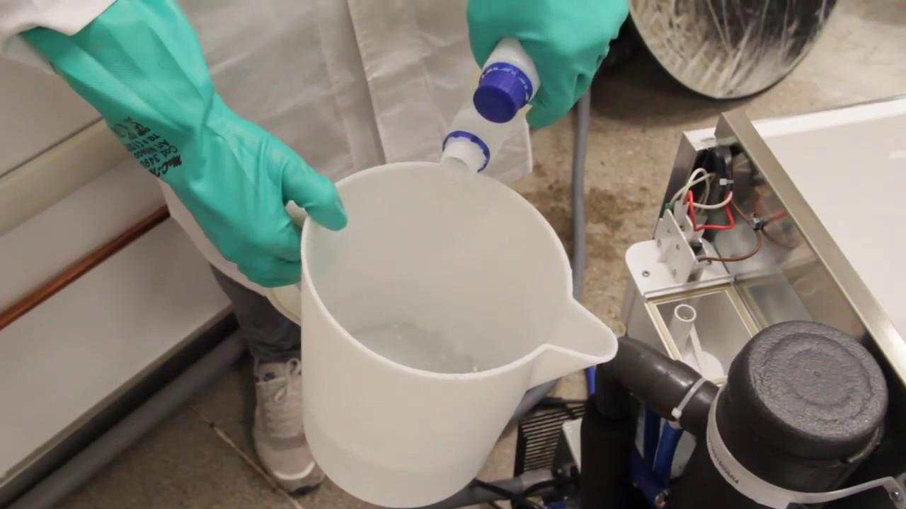 промывка ледогенератора