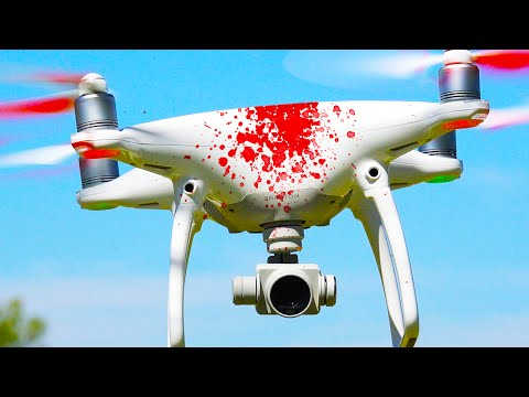 DRONE CRASH INTO GIRLFRIEND! (Q&A)