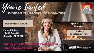 Time to Elevate | Women in Leadership Breakfast