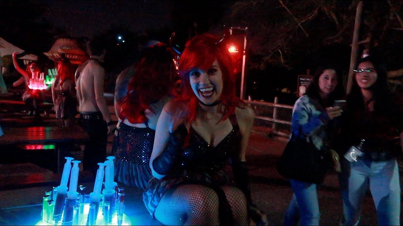 Howl O Scream 2017 Busch Gardens Tampa Opening Night Youtube