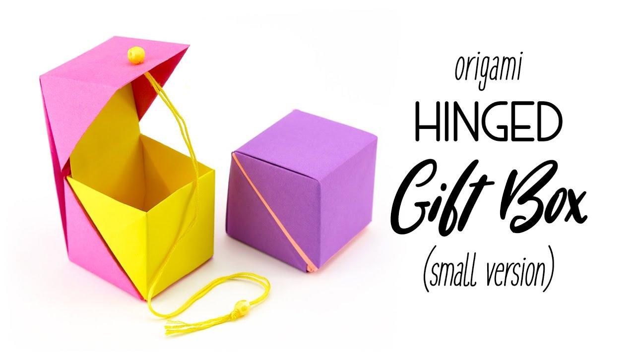 DIY Origami Box with a Printable | Origami box, Paper box diy ... | 720x1280