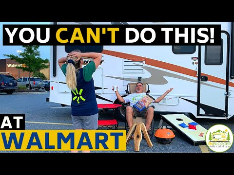 Is Free Overnight RV Parking At Walmart Allowed? Rules. Policy And Etiquette You Need To Know