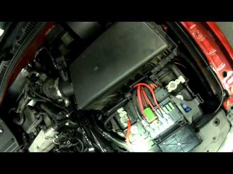 VW A4: 1.8T Engine Coolant Temperature Sensor Replacing