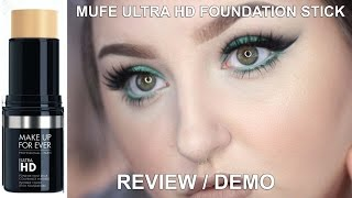 Make Up Forever Ultra HD Foundation Stick & Concealer Review/Demo | RawBeautyKristi