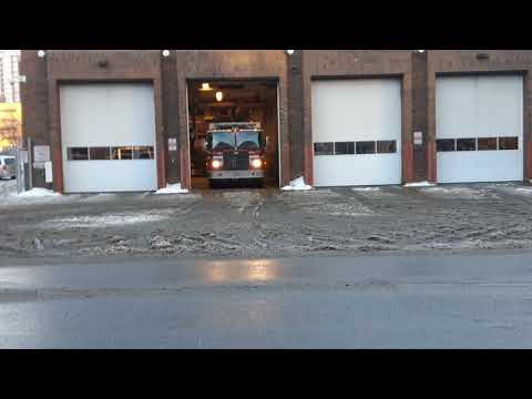 Calgary Rescue 2 Responding (LOTS OF HORN)