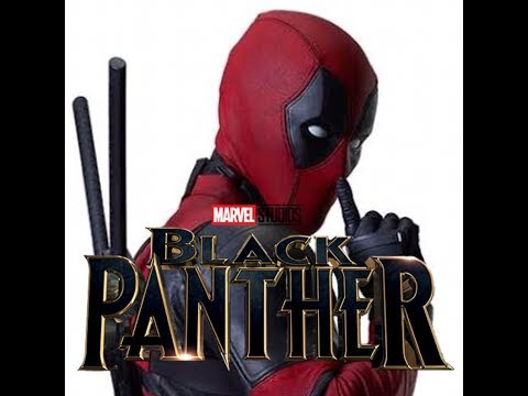Deadpool Black Panther style