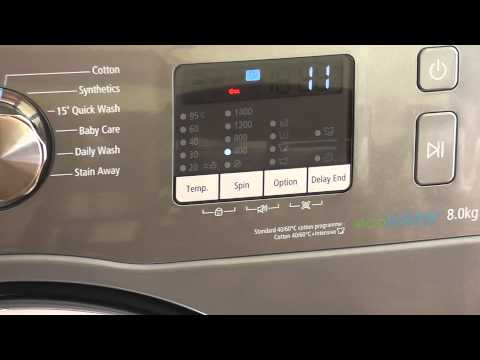 samsung eco bubble 8kg washing machine 2013 youtube. Black Bedroom Furniture Sets. Home Design Ideas