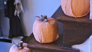 Make A Cute Scrap Fabric Pumpkin - Home - Guidecentral