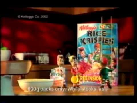 Kellogg's Rice Krispies Commercial