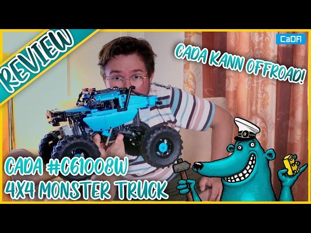 CaDA C61008W Monster Truck: Offroad-Technik, die funktioniert!