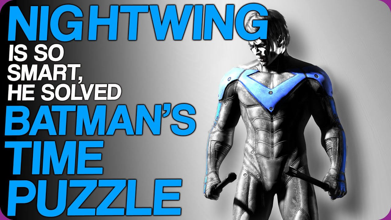 Download Nightwing Is So Smart, He Solved Batman's Time Puzzle   Wiki Weekends