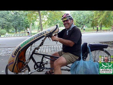 """Fewer Cars More Bikes"" Recumbent Bike Advocate Shelly Mossey-Laidback Bike Report"