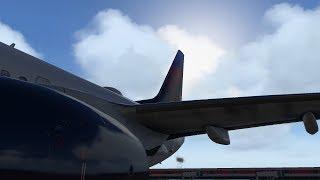 X-Plane 11 Zibo 737-900 KDEN-KSLC-KLAS-KDEN DAL32 