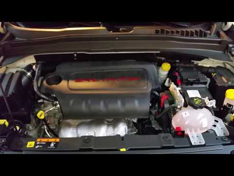2015-2018 Jeep Renegade - Oil Dipstick Location - How To Check Oil Level - MultiAir 2.4L I4 Engine
