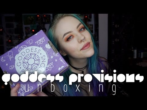 Goddess Provisions Unboxing | Enjoy The Journey