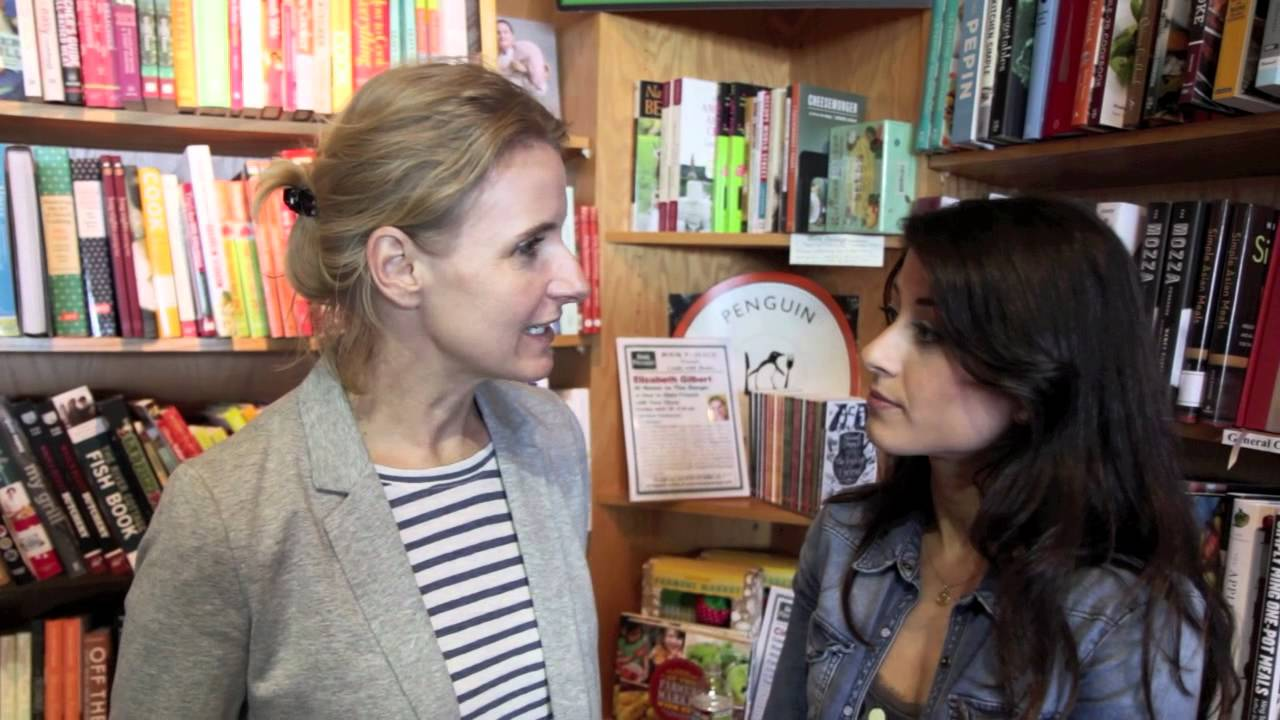 Interview with Elizabeth Gilbert (Author Eat, Pray, Love ...
