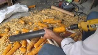 Дробилка кукурузы самым простым способом)(, 2015-12-18T09:39:26.000Z)
