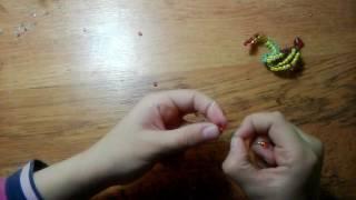 Плетение змейки бисером