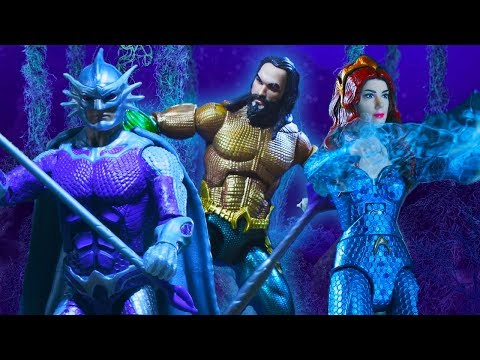 Aquaman and Mera | Trident Adventures | DC Kids