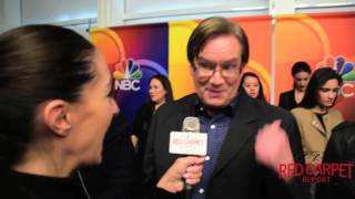 Interview with Mark McKinney from NBC's new Comedy Superstore #Superstore
