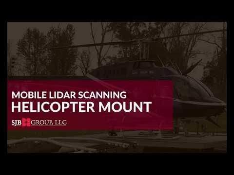 SJB Group - Mobile LiDAR Scanning - Helicopter Mount