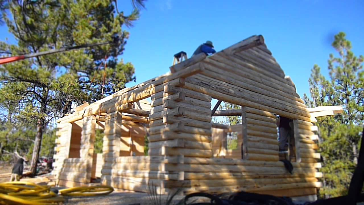 D Log Cabin Clearwaterlogstructures Com Youtube
