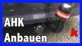 Anhängerkupplung anbauen für jeden! Opel Astra H Caravan