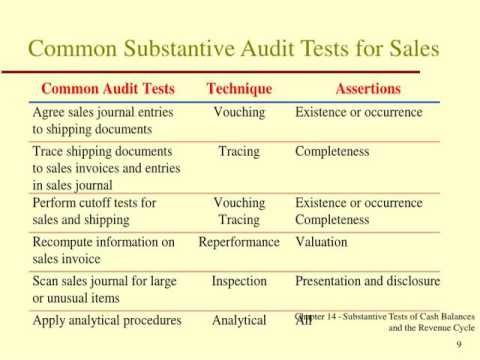 term paper on auditing