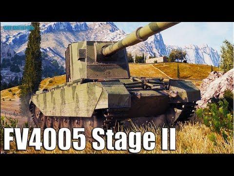 Колобанов на БАБАХЕ ✅ World of Tanks FV4005 Stage II лучший бой
