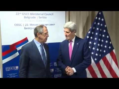 Sergey Lavrov & John Kerry | Встреча С.Лаврова и Дж.Керри