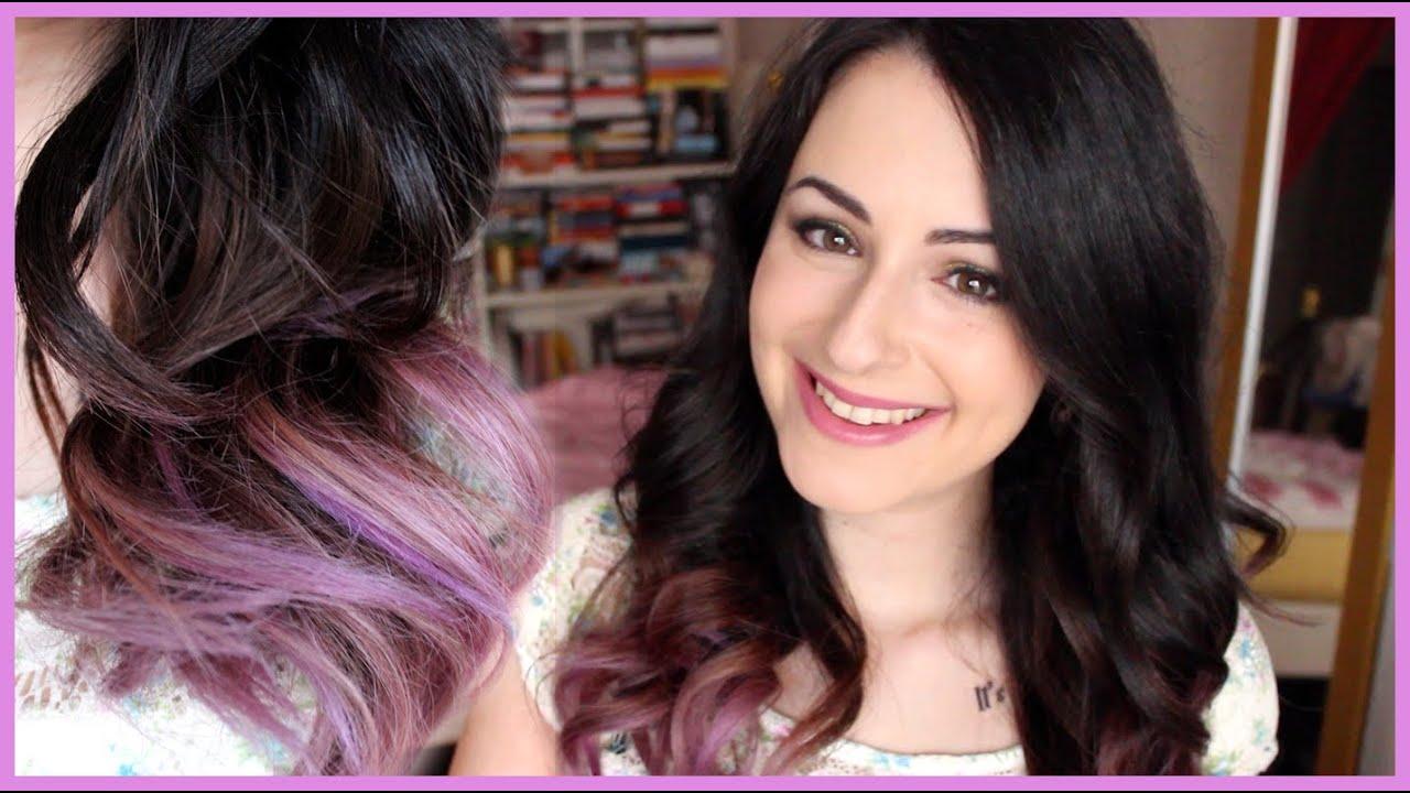 Shatush rosa capelli corti