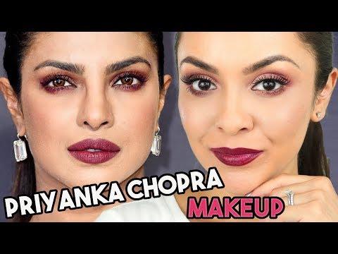 Priyanka Chopra Emmy Awards Inspired Makeup Tutorial - TrinaDuhra