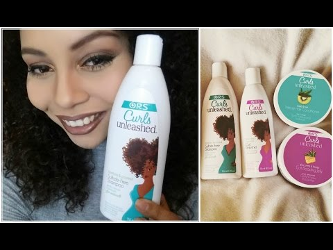 ORS Curls Unleashed Haul and Review | Natural Hair