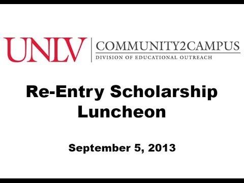 UNLV Community2Campus - Re-Entry Scholarship Luncheon