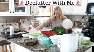DECLUTTER WITH ME / KITCHEN CABINETS