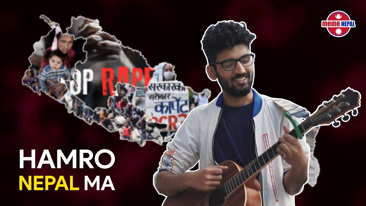 Hamro Nepal Ma Spoof | Reesav Niraula | meme NEPAL